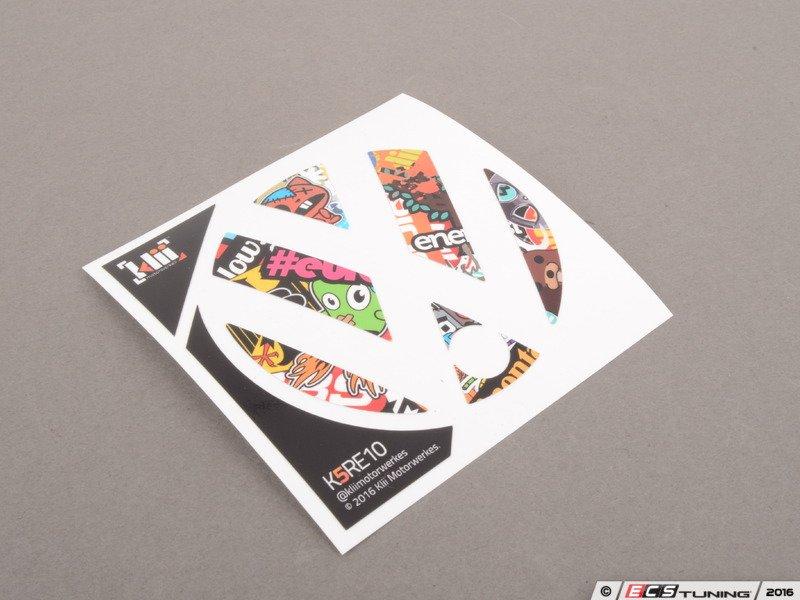Klii Motorwerkes K5re10 Rear Badge Inlay Stickerbomb