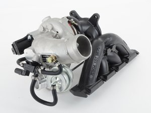 ES#3177570 - F23T-CERAMIC-FSI - F23T Hybrid Turbocharger - Ceramic Coated - F23T hybrid turbo upgrade for a direct bolt on kit - FrankenTurbo - Audi Volkswagen