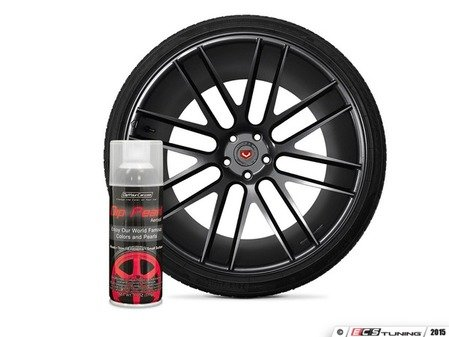 ES#3146952 - DPA-HyperBlack - Hyper Black Graphite DipPearl - 11oz. Can - Perfect for Wheels, Trim, Emblems and Small Surfaces - DipYourCar - Audi BMW Volkswagen Mercedes Benz MINI Porsche