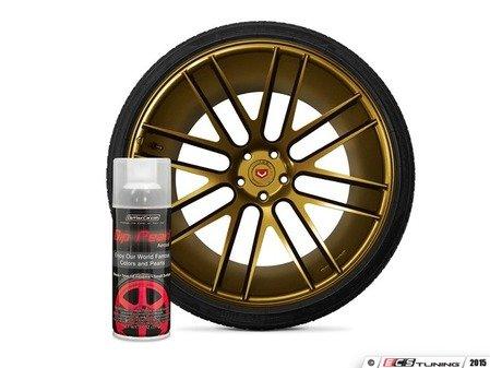 ES#3146955 - DPA-PureGold - Pure Gold Alloy DipPearl - 11oz. Can - Perfect for Wheels, Trim, Emblems and Small Surfaces - DipYourCar - Audi BMW Volkswagen Mercedes Benz MINI Porsche