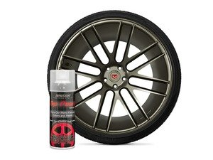 ES#3146956 - DPA-RawTitanium - Raw Titanium DipPearl - 11oz. Can - Perfect for Wheels, Trim, Emblems and Small Surfaces - DipYourCar - Audi BMW Volkswagen Mercedes Benz MINI Porsche