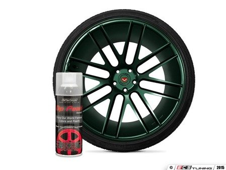 ES#3146958 - DPA-Tahitian - Tahitian Green DipPearl - 11oz. Can - Perfect for Wheels, Trim, Emblems and Small Surfaces - DipYourCar - Audi BMW Volkswagen Mercedes Benz MINI Porsche