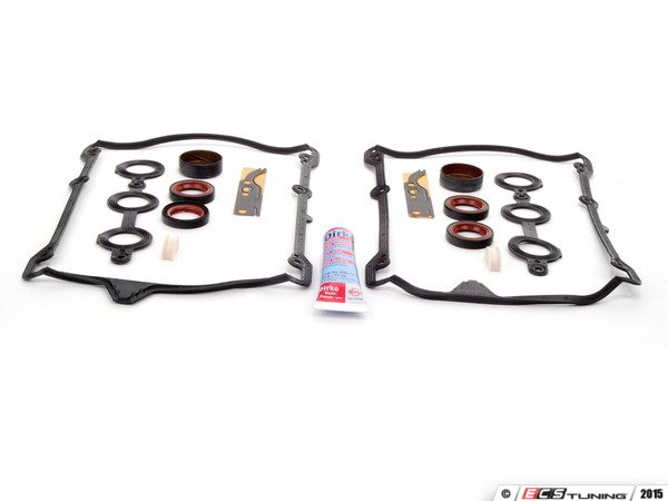ES#259658 - 078996025 - Complete Valve Cover Gasket Kit - Everything you need to reseal leaky valve covers - Assembled By ECS - Audi Volkswagen