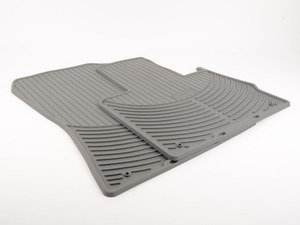 ES#196756 - 82550151487 - Front Rubber Floor Mat Set - Gray - Protect your carpet from the elements - Genuine BMW - BMW
