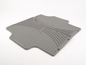 ES#120628 - 51470151486 - Rear Rubber Floor Mat Set - Gray - Protect the floor of your X5 with these rubber mats - Genuine BMW - BMW