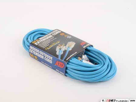 ES#3146424 - ATD-8003 - Indoor/Outdoor Extension Cord - 50' - Bring power where you need it! - ATD Tools - Audi BMW Volkswagen Mercedes Benz MINI Porsche