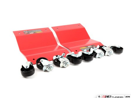 ES#3146422 - ATD-7466 -  3,000lb. Car Dollys - Pair - Move your car around with ease in any direction with these wheel dollys - ATD Tools - Audi BMW Volkswagen Mercedes Benz MINI Porsche