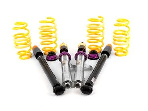 ES#2836656 - 1808000nKT - KW Street Comfort Coilover Kit - Adjustable Dampening - Street Comfort coilovers offer sport handling with adjustable rebound dampening - KW Suspension - Volkswagen