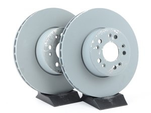 ES#2570081 - 1404211012KT1 - Front Brake Rotors - Set Of Two - Does not include new rotor securing screws - Genuine Mercedes Benz - Mercedes Benz