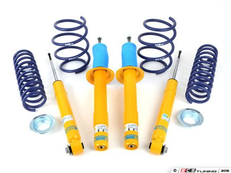 ES#3047912 - 35-114079KT - Performance Suspension Cup Kit - Sport - Featuring Bilstein B8 shocks and H&R sport lowering springs - Assembled By ECS - BMW