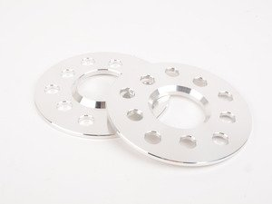 ES#3080707 - 7826365 - 42 Draft Designs Dual-Drilled Wheel Spacers - 5mm (1 Pair)  - Exclusively built for your Volkswagen or Audi - 5x100/5x112 - 42 Draft Designs - Audi Volkswagen