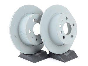 ES#2678243 - 1264230012KT1 - Rear Brake Rotors - Pair - Keep your brakes working like new - Genuine Mercedes Benz - Mercedes Benz