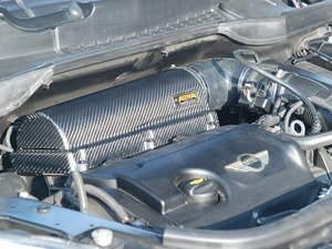ES#3647364 - PXV1-47 - Pipercross V1 By ARMA Carbon Fiber Intake System N18 Engine - Matte - Completely transform your engine bay while increasing performance and sound featuring a Pipercross Foam Filter - ARMA - MINI