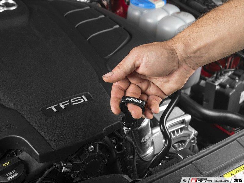 Ecs news audi b8 b8 5 a4 a5 ecs billet aluminum dipstick Audi a5 motor oil
