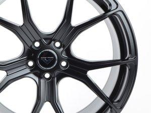 "ES#3072494 - 10320MBW212R - 20"" V-FF 103 Style Wheels - Priced Each - 20""x10"" ET42 66.6CB 5x112 Mystic Black - Vorsteiner - Audi"