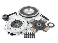 ES#2568976 - 17020HDCB4ALKT -  Stage 4 Clutch Kit - Aluminum Flywheel (13lbs) - Ultimate track clutch, 4-puck disc holds up to 500 FT LBS TQ - Clutch Masters - Volkswagen