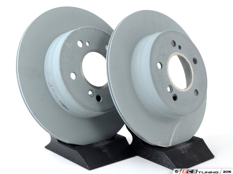 Genuine mercedes benz 0054201720kt rear brake service kit for Mercedes benz rotors and pads