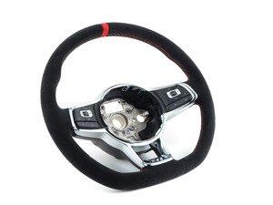 ES#3129520 - 5G0419091EGNNM - GTI Clubsport Steering Wheel - Alcantara multifunction steering wheel from the MK7 GTI Clubsport - Genuine European Volkswagen Audi - Volkswagen