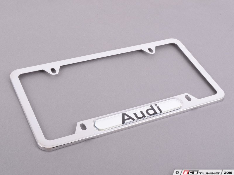 frame removing removal forum threads plate license audi attachment to how name mount front
