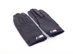 ES#190315 - 80160435736 - ///M Driving Gloves - Large - Leather driving gloves garnished with the ///M logo - Genuine BMW - BMW