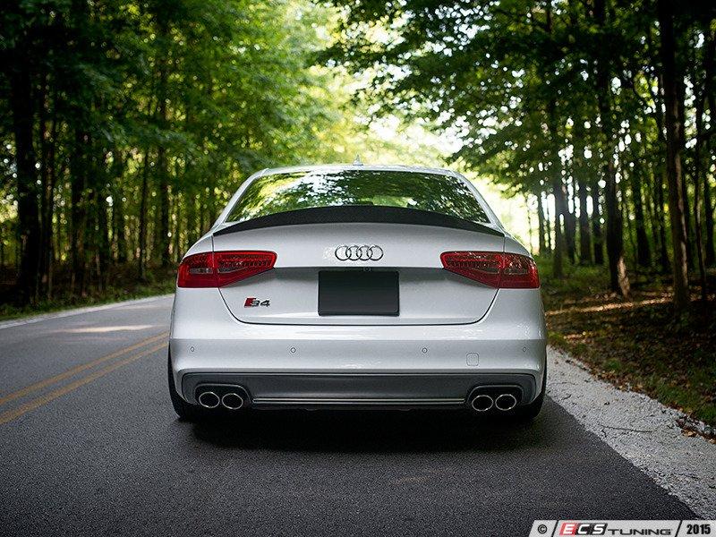 Ecs News Audi B8 B8 5 S4 Ecs Carbon Fiber Spoiler
