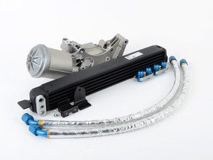 ES#3026804 - TMS1382 - Stage 2 Turner Motorsport Oil Cooler Kit - Keep you modified engine's oil cool with factory fitment and performance parts! - Turner Motorsport - BMW