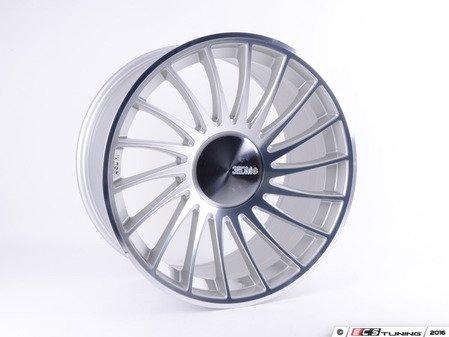 """ES#4414499 - 50605306809KT - 20"""" 0.04 - Set Of Four - 20""""x9.0"""" ET35 5x112 - Silver/Cut - 3SDM - Audi Volkswagen"""