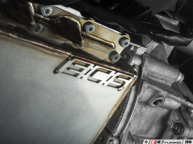 ecs news ecs tuning stainless steel oil pan  vw audi