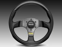 ES#3136023 - TEA28BK0B - MOMO Team Steering Wheel - 280mm - Customize your driving experience with this fine leather steering wheel - MOMO - Audi BMW Volkswagen Mercedes Benz MINI Porsche
