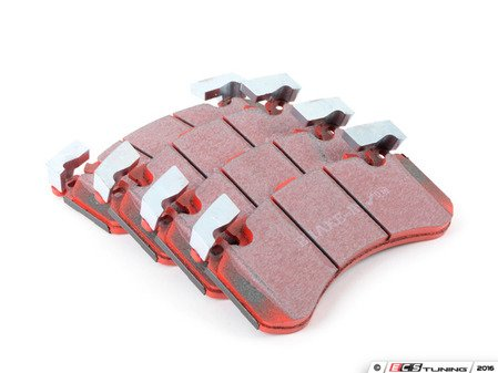 ES#3063669 - DP32158C - Front RedStuff Performance Front Brake Pad Set - High performance street pad featuring Kevlar technology - EBC - Audi