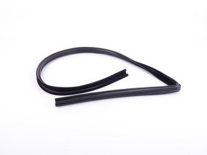 ES#2533353 - 1237250425 - Front Window Seal - Priced Each - Fits Left And Right Side - Seals Window To Door - URO - Mercedes Benz