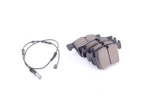 ES#2816719 - EUR1561A - Front Euro Ceramic Brake Pad Set - Offers excellent pedal feedback, low dust, and smooth initial bite. A favorite among BMW enthusiasts. - Akebono - BMW