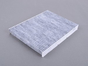 ES#3147547 - 1J0819644A - Charcoal Lined Cabin Filter / Fresh Air Filter - The activated charcoal filters odor from reaching the cabin - Micronair - Audi Volkswagen