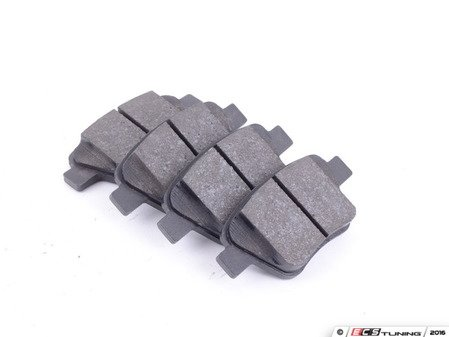 ES#3143606 - 5K0698451A - Rear Brake Pad Set - Restore stopping power with these new pads - Jurid - Audi Volkswagen