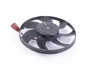 ES#3139119 - 1K0959455ET - Auxiliary Fan Assembly - 295mm - Smaller of the two fans found behind the radiator - Hudson - Audi Volkswagen