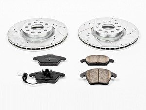ES#3156477 - K2259 - Z23 Evolution Sport Performance Front Brake Service Kit (312x25) - Proven performance with minimal dust - Power Stop - Volkswagen