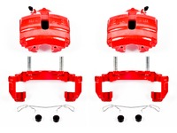 ES#3160798 - S2974A - Front Brake Calipers - Pair - Restore braking performance with fresh new powdercoated parts - Power Stop - Volkswagen