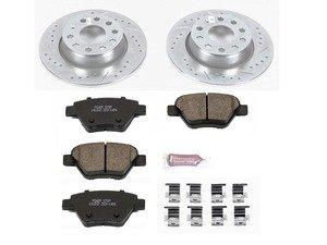 ES#3157334 - K5667 - Z23 Evolution Sport Performance Rear Brake Service Kit (272x10) - Proven performance with minimal dust - Power Stop - Volkswagen