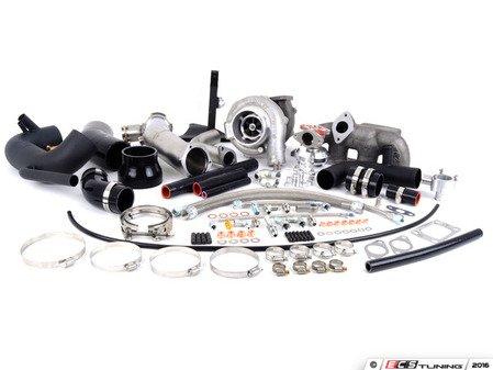 ES#3146696 - ATP-VVW-213  - ATP 450hp Turbo Kit  - Externally Wastegated 450hp Turbo Kit - Black Wastegate / Black Hoses - ATP - Audi