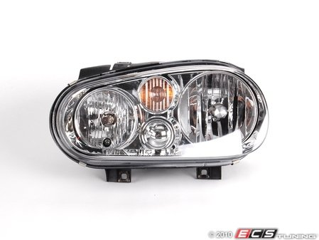 ES#259443 - 1J0941017B -  Headlight - Left - Without fog light, with clear turn signal lens - Genera - Volkswagen