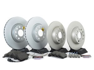 ES#3145620 - ESK5801 - Euro-Stop Brake Kit - Front & Rear (312x25/272x10) - A quality braking kit to restore braking performance - Power Stop - Volkswagen