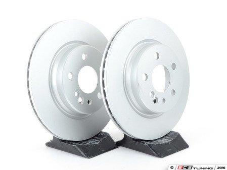 ES#2570092 - 140423041264KT2 - Rear Brake Rotors - Set Of Two - Featuring a protective Meyle Platinum coating - Meyle - Mercedes Benz