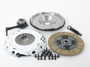 ES#2575884 - 17375HDKVSPKIT - Stage 2 Clutch Kit - Steel Flywheel (20lbs) - Perfect for daily driving a k04 - Clutch Masters - Audi Volkswagen