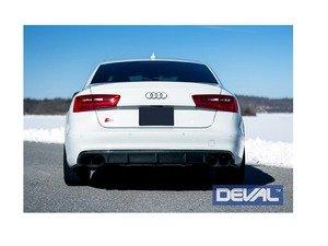 ES#3142818 - D40234 - Carbon Fiber Rear Diffuser  - Delivers an unmatched combination of aggressiveness and luxury elegance - Deval - Audi