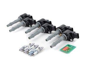 ES#2763471 - 2729060060KT2 - Ignition Service Kit - Includes six Delphi coil packs and six Bosch spark plugs - Assembled By ECS - Mercedes Benz