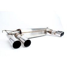 ES#3149166 - D660-0054 - Stainless Axle-Back Exhaust - Polished Tips - Civilized performance for the discerning enthusiast - +8HP/+7TQ - Dinan - BMW