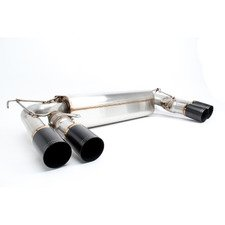 ES#3149167 - D660-0054BLK - Stainless Axle-Back Exhaust - Black Tips - Civilized performance for the discerning enthusiast - +8HP/+7TQ - Dinan - BMW