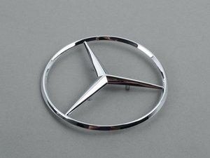 ES#1666598 - 1267580158 - Mercedes-Benz Star Emblem - Located on the trunk lid of your Mercedes-Benz - Genuine Mercedes Benz - Mercedes Benz