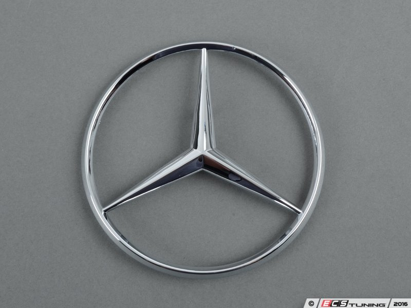 Genuine mercedes benz 1267580158 mercedes benz star emblem for Mercedes benz star emblem