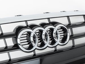 ES#2541925 - 8T0853651LT94 - Grille - Glossy Black/Chrome - Clean up or change your look - Genuine Volkswagen Audi - Audi